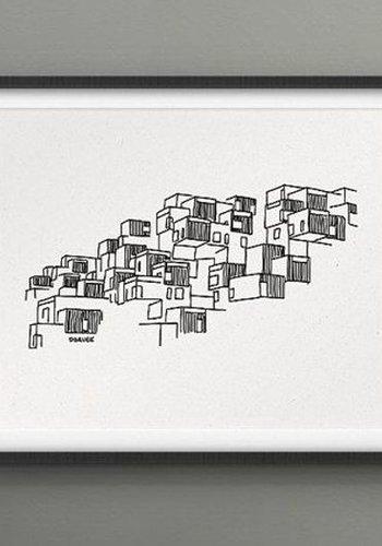 8x10 Print - Habitat 67
