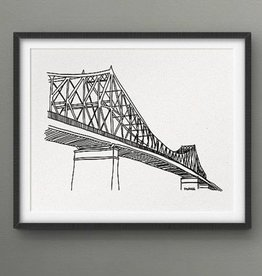 Darveelicious 5x7 Print - Jacques-Cartier Bridge