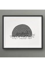 Darveelicious Darveelicious Biosphere 8x10 Art Print
