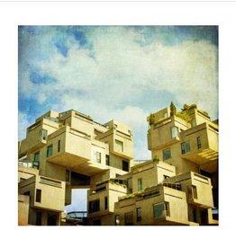 Monumentalove Moyen Imprimé Habitat 67