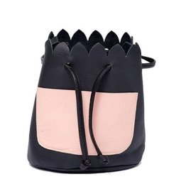 Noemiah Small Scalloped Bag