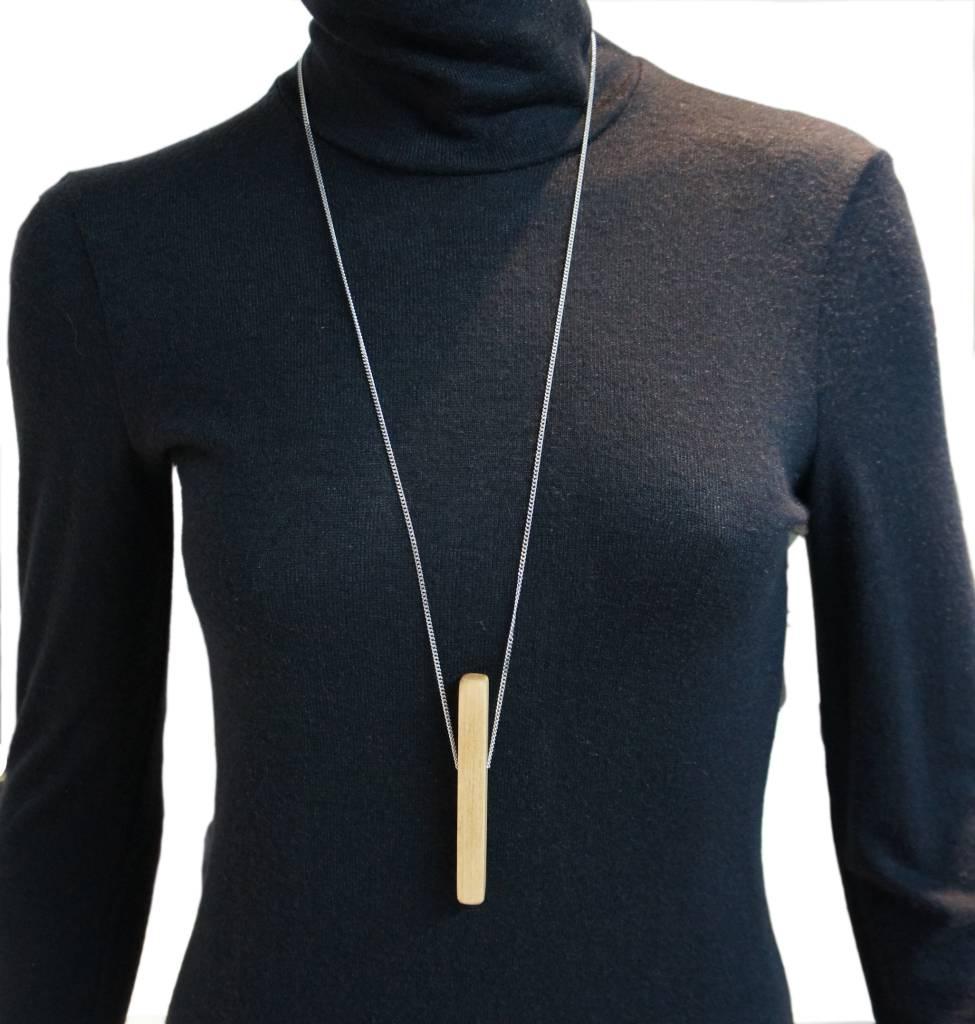 Louve Montreal Louve Montreal Vertical Line Necklace