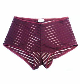 Cameo Hi-waisted Brief - Wine