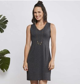 Cherry Bobin Apéro Dress - Grey