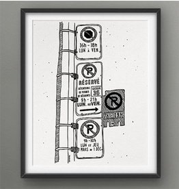Darveelicious 8x10 Parking Hell Print