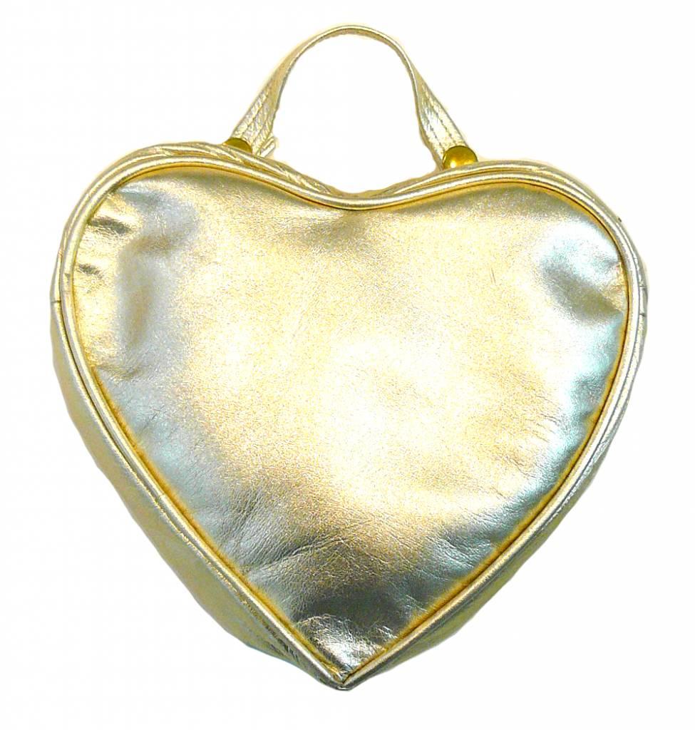 Noemiah Gold Heart Bag