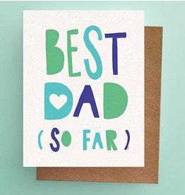 Darveelicious Best Dad Greeting Card