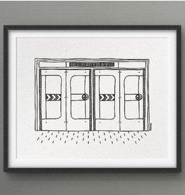 Darveelicious 5x7 Metro Print