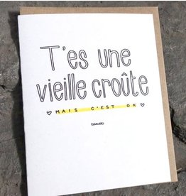 Darveelicious Carte Vieille croûte