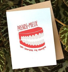 Darveelicious Sourire Greeting Card