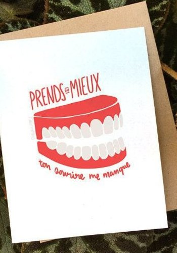 Sourire Greeting Card