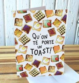 Merci Bonsoir par Marie-Claude Marquis Carte Toast