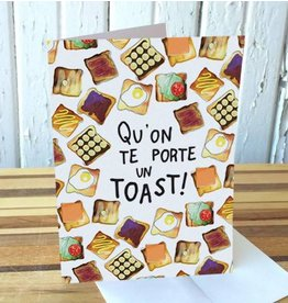 Merci Bonsoir par Marie-Claude Marquis Carte Toast