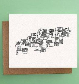 Darveelicious Habitat 67 Postcard