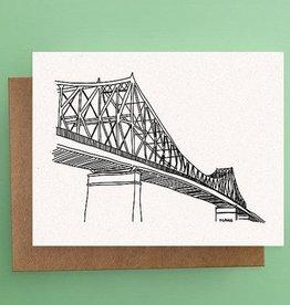 Darveelicious Pont Jacques-Cartier Carte Postale