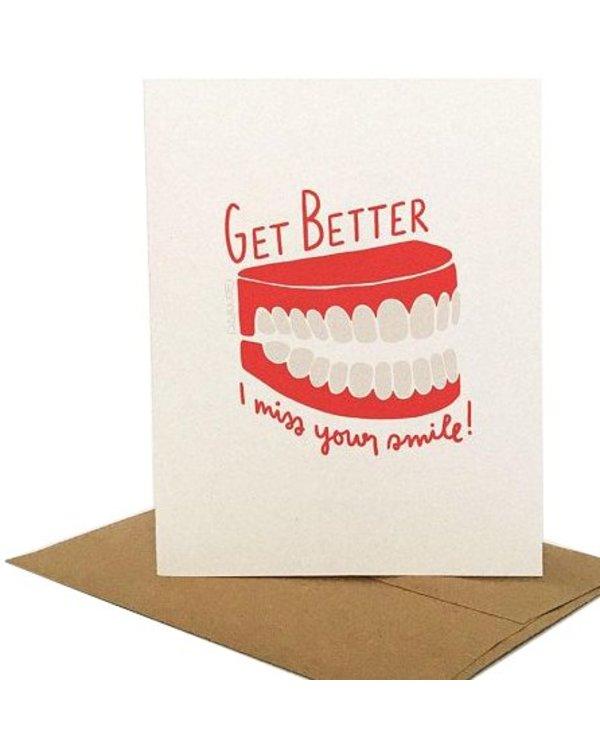 Darveelicious Smile Greeting Card