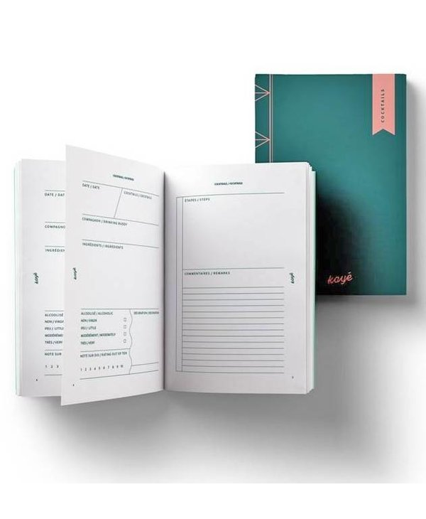 Kayé Cocktail Notebook