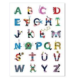 Paperole Affiche Alpha 18x24