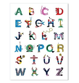 Paperole Alphabet Poster 18x24