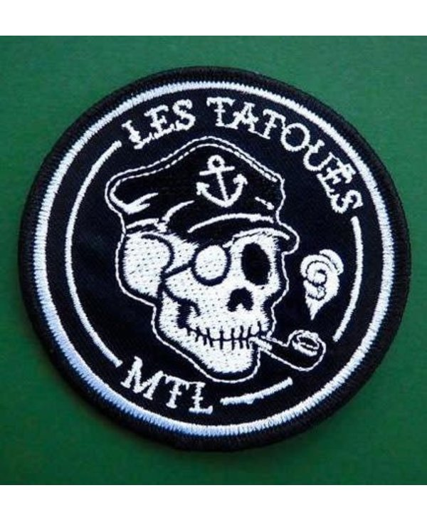 Les Tatoués Iron or Sew-On Patches