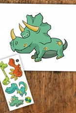 Pico tatoo Pico Tattoo Dinosaur Greeting Card
