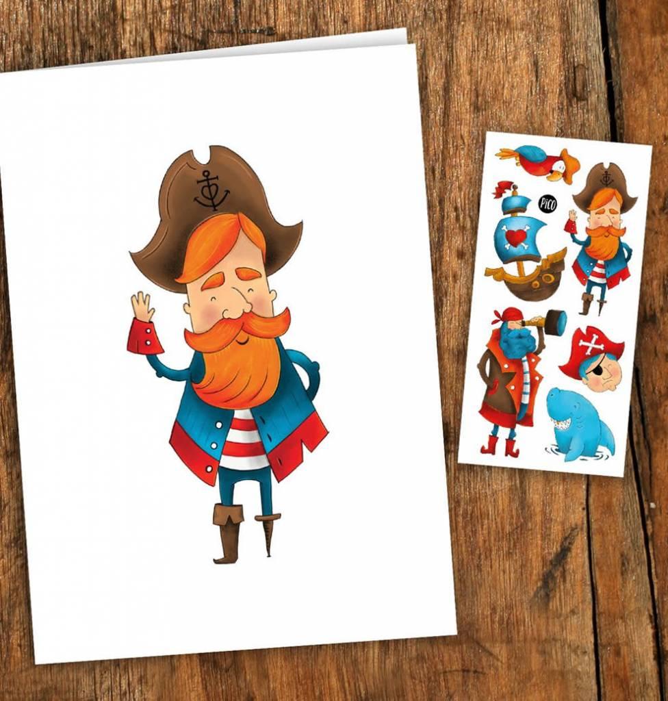 Pico tatoo Pico Tattoo Carte Pirates
