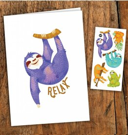 Pico tatoo Sloth Greeting Card
