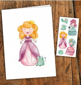 Pico tatoo Princesses Greeting Card