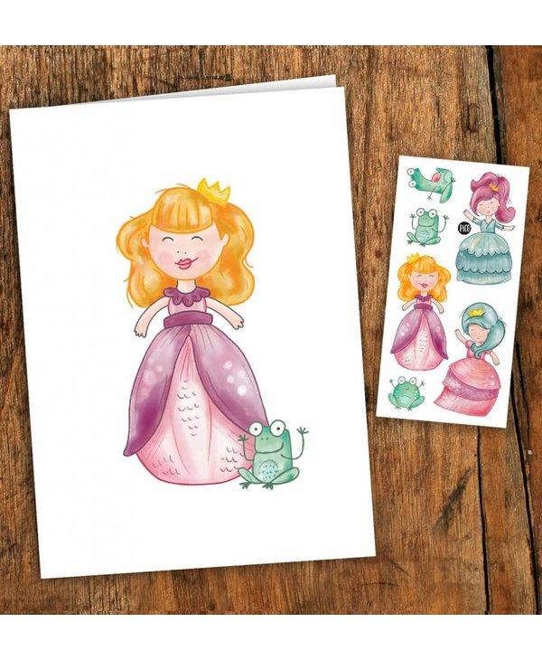 Pico Tattoo Princesses Greeting Card