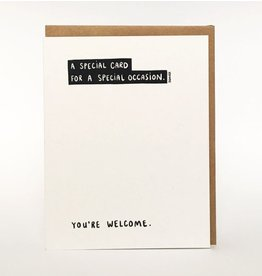 Darveelicious Special Occasion Greeting Card