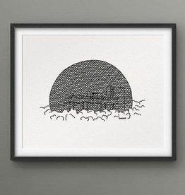 Darveelicious Affichette 5x7 Biosphere