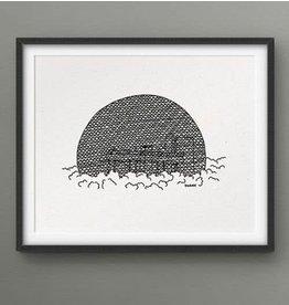Darveelicious 5x7 Biosphere Print