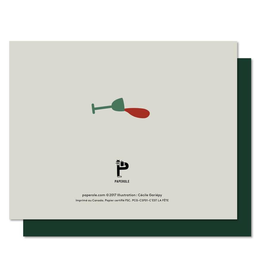 Paperole Paperole C'est la Fête Greeting Card