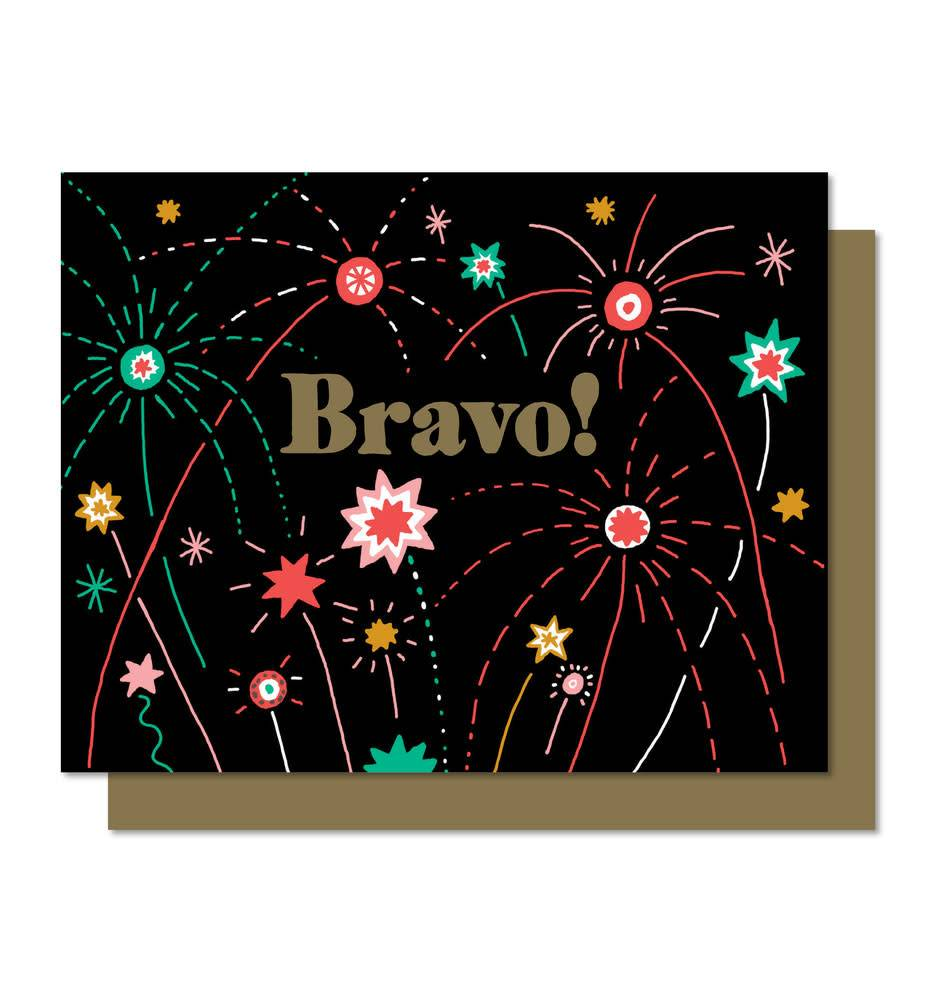 Paperole Paperole Firework Greeting Card