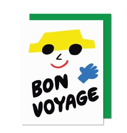 Paperole Bon Voyage Greeting Card