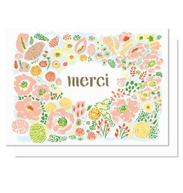 Paperole Merci Greeting Card