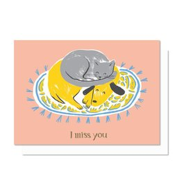 Paperole Miss You Greeting Card
