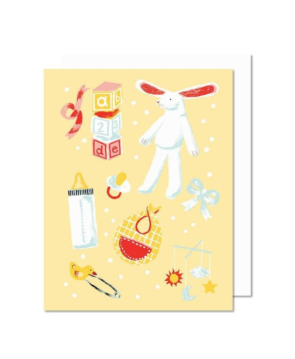 Paperole Baby Greeting Card