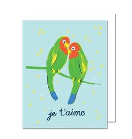 Paperole Carte Lovebirds