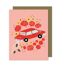 Paperole Carte souh. Just Married