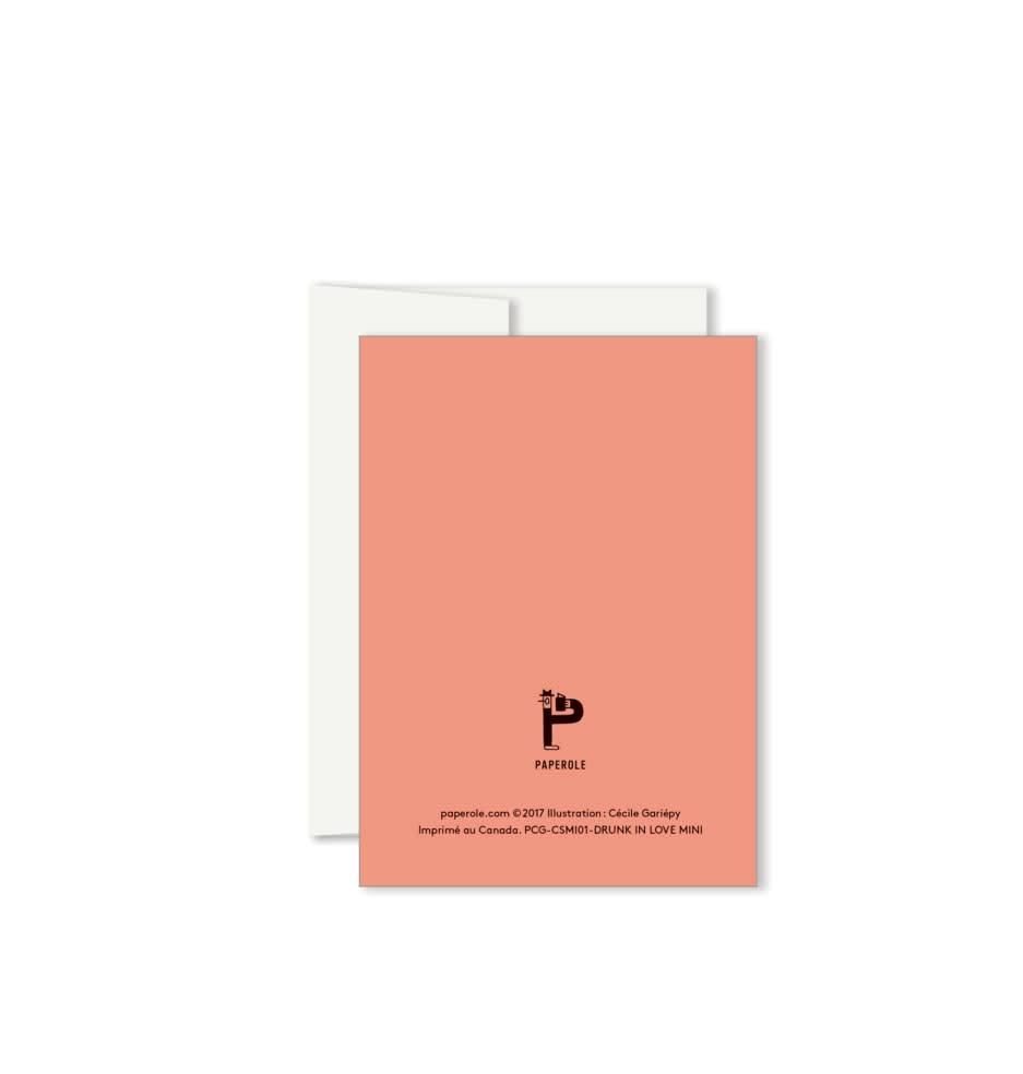 Paperole Paperole Carte Mini Drunk in Love