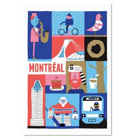 "Paperole 8 x 10"" MTL Poster"
