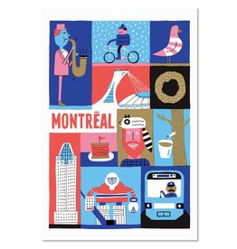 """Paperole 8 x 10"""" MTL Poster"""