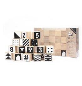 Gautier Studio Badaboum Cubes - B/W