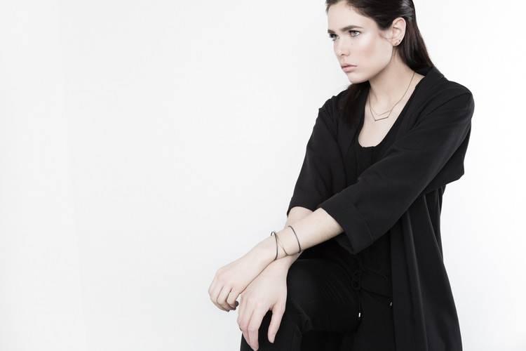 Pilar Agueci Line Necklace