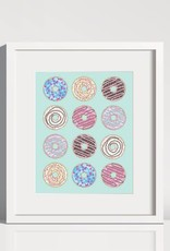 Lolly and Max Affichette Donut 8 x 10