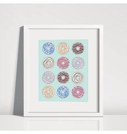 Donut Print 8 x 10