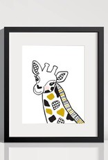 Lolly and Max Safari Animal Print 8 x 10