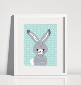 Animal Pattern Art Print 8 x 10