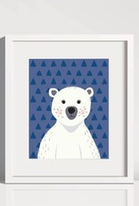 Lolly and Max Animal Pattern Art Print 8 x 10
